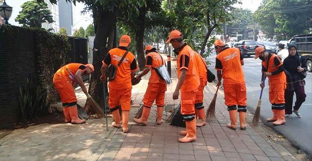 500 pasukan oranye disiagakan di Monas pada Demo 2 Desember
