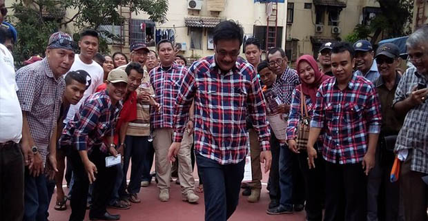 Djarot Menegaskan Kami Menggusur Orang Korup, Bukan Warga Jakarta