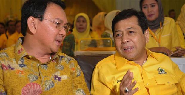 Golkar Siap Berkoalisi Dengan PDIP Untuk Mencalonkan Ahok di Pilgub DKI