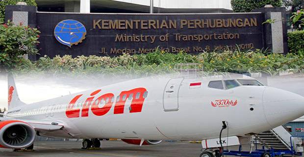 Hasil Interogasi Kemenhub Atas Kasus Lion Air