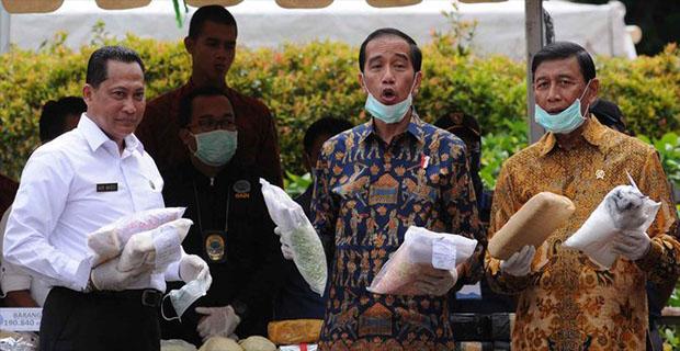 Panglima TNI Gatot Mengatakan Jokowi Marah Besar Atas Narkoba Di Indonesia