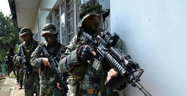 Pasukan Filipina kalah tempur dengan kelompok Abu Sayyaf