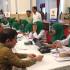 Presiden Jokowi Mengumpulkan Menteri untuk Memberikan Zakat ke Baznas