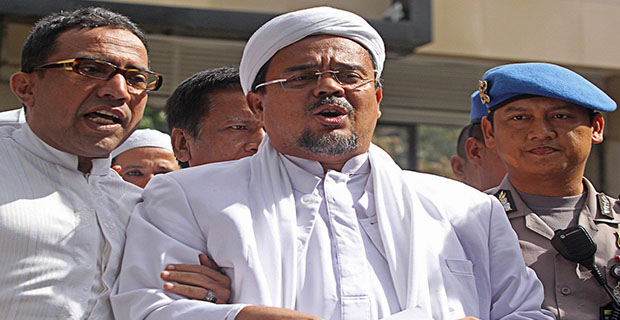 Rizieq Shihab Akui Tidak Takut Untuk Datangi Polda Jabar
