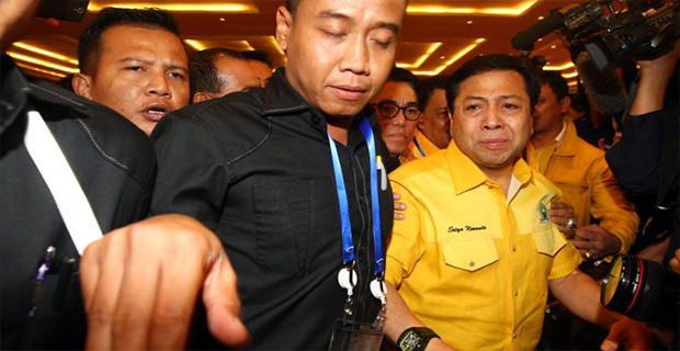 Setya Novanto Terpilih Menjadi Ketua Umum Golkar