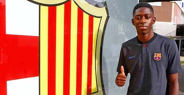 Dembele Tidak Mau Disamakan Dengan Neymar