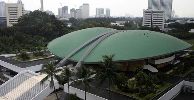 DPR Menggelar Rapat Untuk Membahas Hak Angket KPK