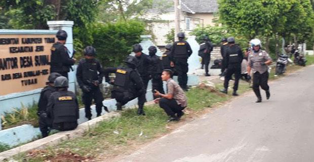 Pelaku Penembakan Anggota Polisi di Tuban Berjumlah 5 Orang