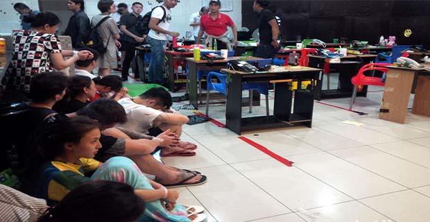 Penggerebekan di Bali, 27 Pelaku Kejahatan Siber Internasional Berhasil di Amankan