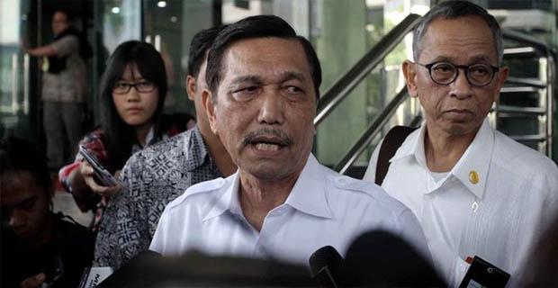 15 Tugas Dari Jokowi Untuk Luhut Termasuk Reklamasi