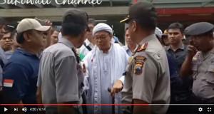 Dengan Tegas Polisi Marahi Tokoh FPI Yang Ingin Melakukan Sweeping Atribut Natal