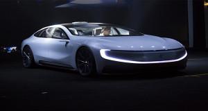 Leeco Membuat Mobil Super Cangih Tanpa Awak