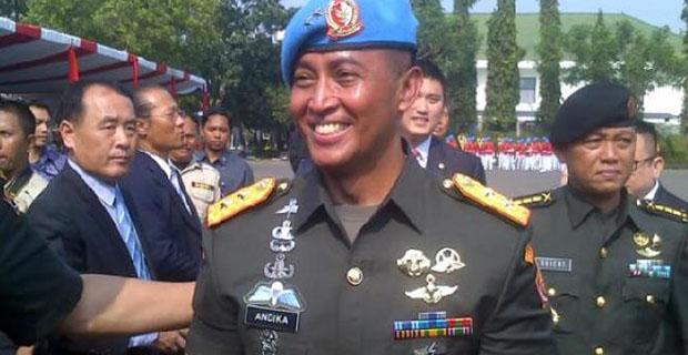Mayjen Andika jadi Pangdam Tanjungpura