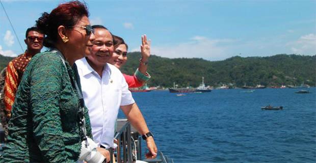 Menteri Kelautan Susi Mengatakan Indonesia Juga Bisa Geram!