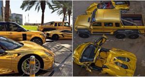 Milioner Arab Saudi Menyerbu London Dengan Mobil Mewah Berlapis Emas