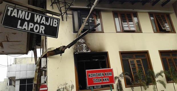 Polisi Berhasil Mengamankan Pelaku Pembakaran Kantor Kejati Jabar
