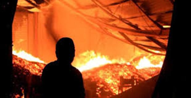 Ratusan Keluarga Kehilangan Tempat Tinggal Karena Terjadi Kebakaran di Benhil