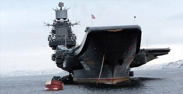 Rusia Memberangkatkan Kapal Induknya ke Suriah Untuk Habisi ISIS