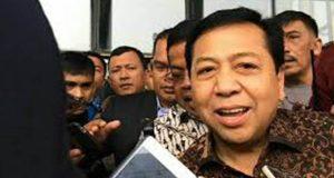 Novanto Ketua DPR Pertama Yang di Tangkap Atas Kasus Korupsi