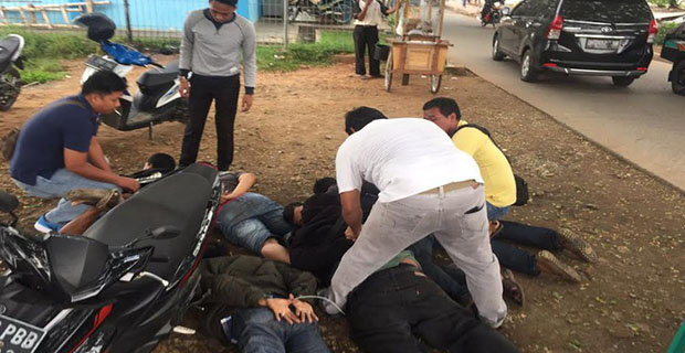 Penjahat Ban Kempis Dan Pecah Kaca Berhasil Di Ringkus Aparat Polisi