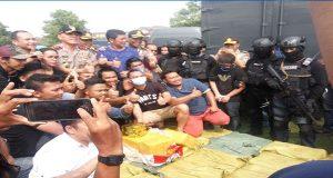 Penyelundupan 1 Ton Sabu Berhasil di Gagalkan Oleh Pihak Kepolisan Indonesia